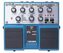 Boss CE-20 Chorus Ensemble Twin Elektro Gitar Analog Pedal