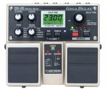 Boss DD-20 Giga Delay Twin Elektro Gitar Analog Pedal