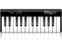 IK Multimedia iRig Keys 25 Mini Tuş USB MIDI Klavye (Mac & PC)