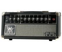 Musicman Solid State preamp / analog power amp -