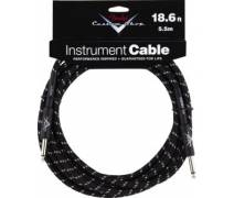 Fender 18.6' CS Perf. Cable BLK TWD