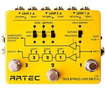 Artec LS3 - Üç Kanal Loop Switch Pedal