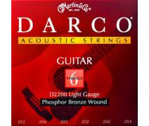 Martin & Co D2200 - Darco Phosphor Bronze (Light) 12-54 Akustik Gitar Teli