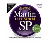 Martin & Co MSP7050 - 92/8 Phosphor Bronze (Custom Light) 11-52 Akustik Gitar Teli