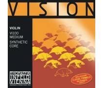 Thomastik VI100 - Vision Synthetic Core (Medium) - Keman Teli
