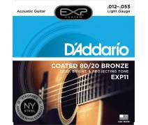 TEL-Akustik Tel Set Extra Light (.012) Coated: EXP11