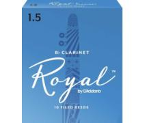 Daddario Woodwinds Royal RCB1015 Sib Klarnet Kamışı No: 1,5