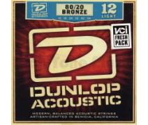 Jim Dunlop DAB1254 Light 80/20 Bronze Akustik Gitar Teli (12-54)