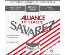 Savarez 540R Alliance Normal Tension Classic Rouge Klasik Gitar Teli