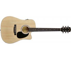 Squier SA-105CE Dreadnought Cutaway NAT