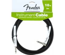 Fender 10' Performance Inst Cable BLK L Uç