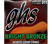 GHS Strings Bright Bronze 12-54 Light  - Akustik Gitar Teli