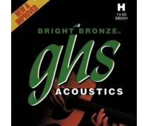 GHS Strings Bright Bronze 14-60 Heavy - Akustik Gitar Teli