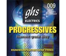 GHS Strings Progressives 09-46 Custom Light - Elektro Gitar Teli