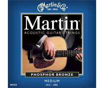 Martin & Co 41M550 - Phosphor Bronze (13-56) Medium - Akustik Gitar Teli