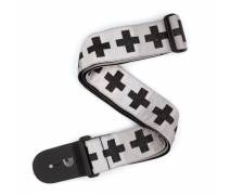 - GİTAR ASKISI DOKUMA CHECKERED CROSSES