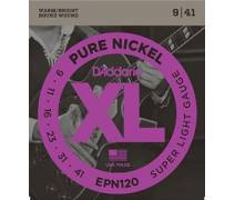 DADDARİO EPN120 XL SUPER LIGHT PURE NICKEL 0.09-041