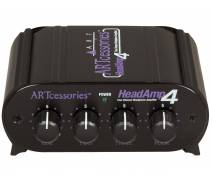 ART HeadAmp 4 4-Ch Headphone Amplifier