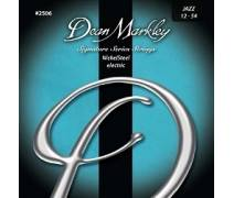 Dean Markley Nickel Steel 2506 (12-54) - Jazz Elektro Gitar Tel Seti