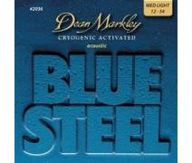 Dean Markley Blue Steel 2036 (12-54) - Medium Light Akustik Gitar Tel Seti