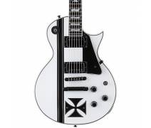 ESP LTD James Hetfield Iron Cross Snow White Signature Elektro Gitar