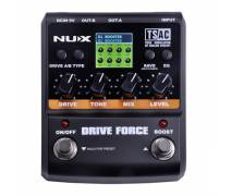 NUX Drive Force Overdrive ve Distortion Pedalı
