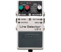 Boss LS-2(T) Line Selector Compact Pedalı