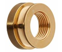Fishman Chrome Strap Nut (Gold)