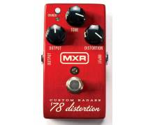MXR M78 Custom Badass '78 Distortion Pedalı