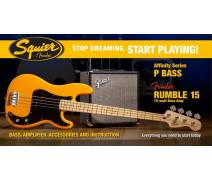 Stop Dreaming Start Playing! Set: Affinity Precision Bass Fender Rumble 15 BTB