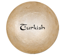 "Turkish Cymbals Brilliant 15"" Gong"