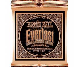 Ernie Ball P02550 Everlast Akustik Gitar Teli (Extra Light)
