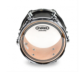 "Evans TT12ECR 12"" EC Resonant Clear Tom Alt Derisi"