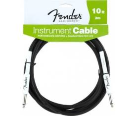 Fender 10' Performance Inst Cable BLK