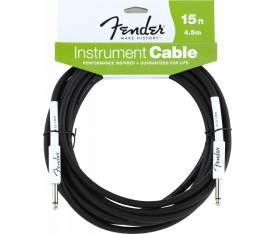 Fender 15' Performance Instrument Cable BLK