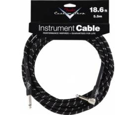 Fender 18.6' CS Perf. Cable BLK TWD L Uç