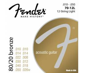 Fender 80/20 Bronze 70XL 10-48