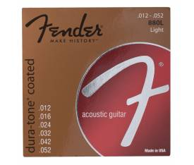Fender Dura-Tone Coated 80/20 880L 12-52