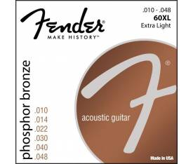 Fender Phosphor Bronze 60XL 10-48