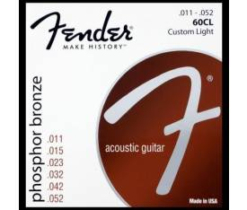 Fender Phosphor Bronze 60CL 11-50
