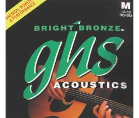 GHS Strings Bright Bronze 14-60 Medium - Akustik Gitar Teli