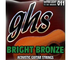 GHS Strings Bright Bronze 09-42 Extra Light - 12 Telli Akustik Gitar Teli