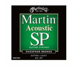 Martin & Co Akustik Gitar Teli - MSP4000 Extra Light
