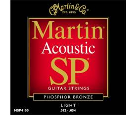 Martin & Co Akustik Gitar Teli - MSP4100 Light