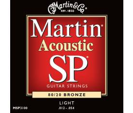 Martin & Co Akustik Gitar Teli - MSP3100 Light