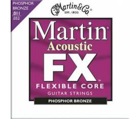 Martin & Co Flexible Core FX 11-52 - Akustik Gitar Teli