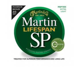 Martin & Co MSP7000 - 92/8 Phosphor Bronze (Extra Light) 10-47 Akustik Gitar Teli
