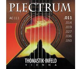 Thomastik AC111 - 11/50 Plectrum Bronze (Light) - Akustik Gitar Teli