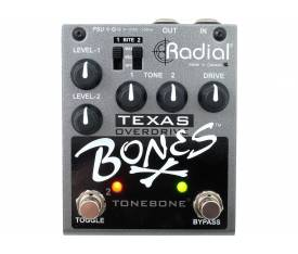 Radial Engineering Bones Texas Overdrive Pedalı