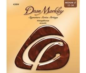 Dean Markley 2004 (12-54) - Bronze Medium Light Akustik Gitar Tel Seti